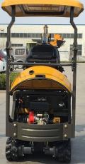 KANA EX10 Bagger mit 1 Tonne Eigengewicht Knickmatic Schnellwechsler und umfangreichen Zubehör