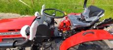 Mitsubishi VST 224D 22PS Kleintraktor mit StVZO Straßenzulassung Traktor Trecker Ackerschlepper Bulldog Schlepper